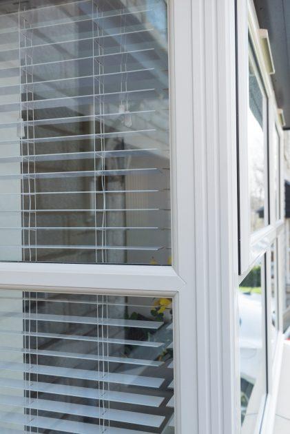 bay PVCu rahau window smooth white