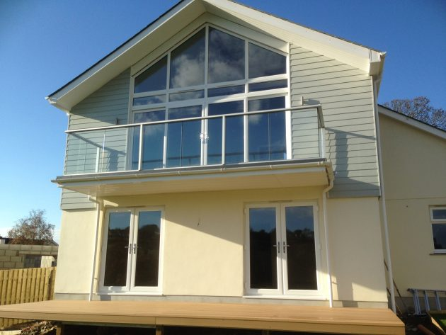 cladding hollow soffit facia supply fit Hereford