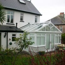 Conservatory installed erected wye valley Home Improvements