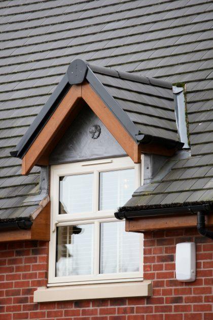 dormer window double glazed stone cill