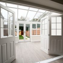 home extensions, garden rooms, conservatory base built