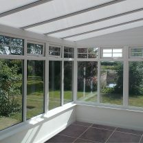 Lean to PVCu sun room in Hereford