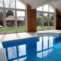 shaped PVCu windows reduce noise pollution