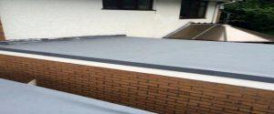 efdm leaking flat roof water repairs rubber