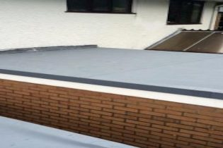 efdm leaking flat roof water repairs rubber